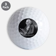 Benjamin Franklin by TB Welch after Mar Golf Ball