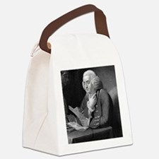 Benjamin Franklin by TB Welch aft Canvas Lunch Bag