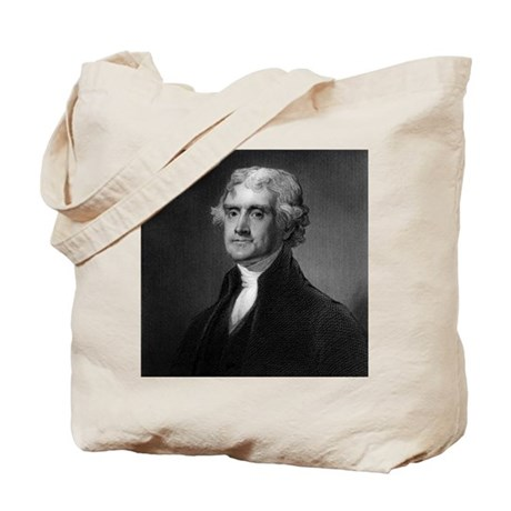 Thomas Jefferson by HB Hall after G Stuar Tote Bag