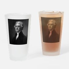 Thomas Jefferson by HB Hall after G Drinking Glass