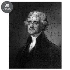 Thomas Jefferson by HB Hall after G Stuart Puzzle