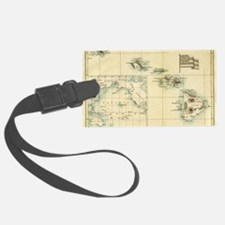 Map of Hawaii by London Longman  Luggage Tag