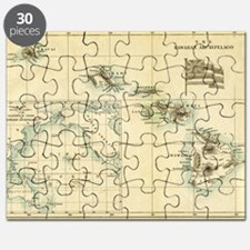 Map of Hawaii by London Longman  Co - Edit Puzzle