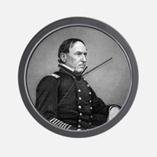 DG Farragut by WJ Jackman after photo J Wall Clock