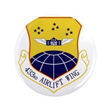 "433rd Airlift Wing 3.5"" Button"