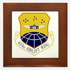 433rd Airlift Wing Framed Tile