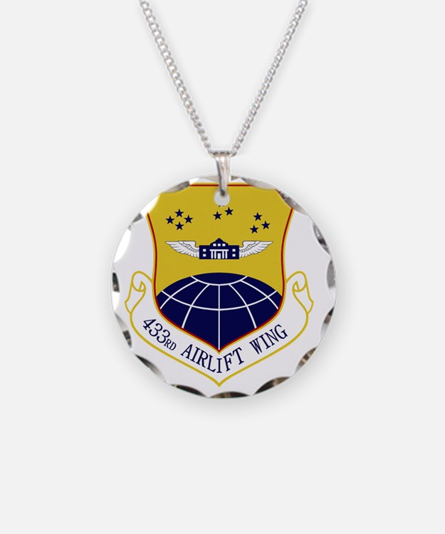 433rd Airlift Wing Necklace