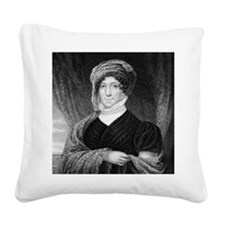 First Lady Madison by JFE Pru Square Canvas Pillow