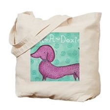 Polk-a-Doxie Mousepad Tote Bag