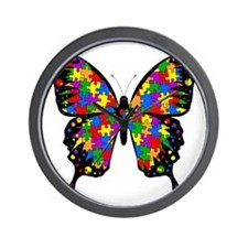 autismbutterfly Wall Clock