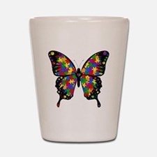 autismbutterfly Shot Glass