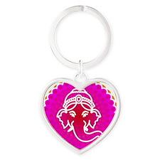 Ganesh to refresh! Heart Keychain