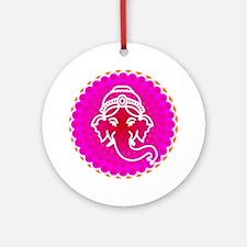 Ganesh to refresh! Round Ornament