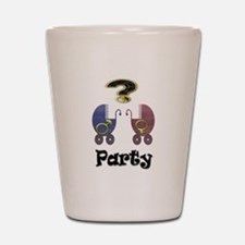 Gender reveal party Shot Glass
