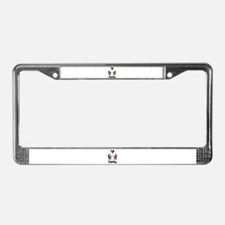 Gender Reveal Party License Plate Frame