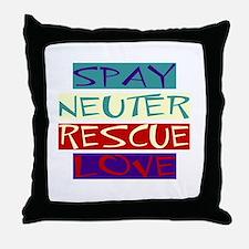 SNRL Throw Pillow