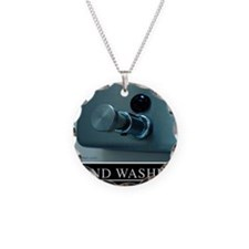 hand-washing-humor-infection Necklace