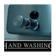 hand-washing-humor-infection-lg3 Tile Coaster