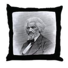 Frederick Douglass by Augustus Robin Throw Pillow