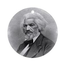 Frederick Douglass by Augustus Robi Round Ornament