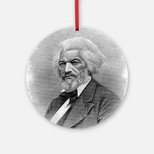 Frederick Douglass by Augustus Robi Round Ornament