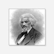 "Frederick Douglass by Augus Square Sticker 3"" x 3"""