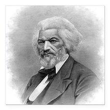 "Frederick Douglass by Au Square Car Magnet 3"" x 3"""