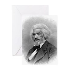 Frederick Douglass by Augustus Robin Greeting Card