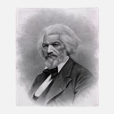 Frederick Douglass by Augustus Robin Throw Blanket