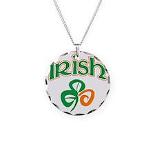 irish3 Necklace Circle Charm