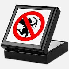 Anti-Cupid Anti-Valentine Keepsake Box
