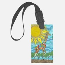 African Rainbow Luggage Tag