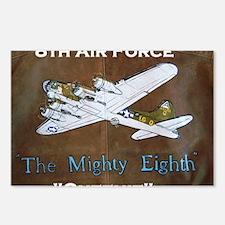 Queenie - 8th AF B-17 Postcards (Package of 8)