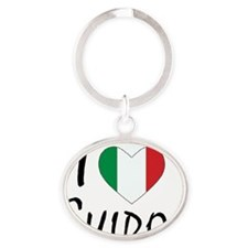 Guidos Oval Keychain