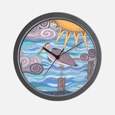 Herons Watch Wall Clock