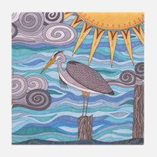 Herons Watch Tile Coaster