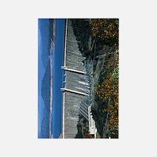(13) Shasta Dam Rectangle Magnet