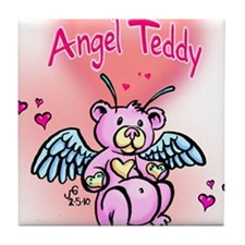 angelteddy baby Tile Coaster