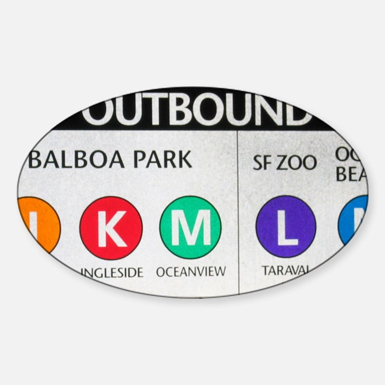 Outbound SF Decal