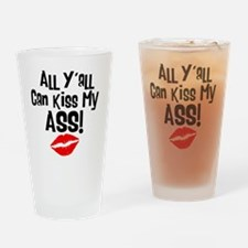 all_yall Drinking Glass