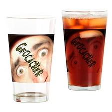 Geocacher Geocaching Drinking Glass