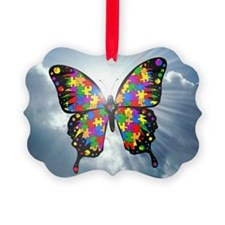 autismbutterfly - sky 6inch Ornament