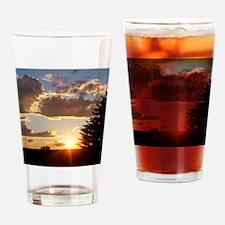 digital 002 Drinking Glass