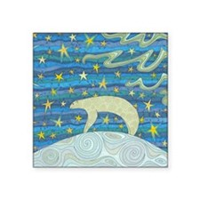 """Top of the World Square Sticker 3"""" x 3"""""""