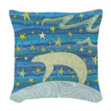 Folk art Throw Pillows
