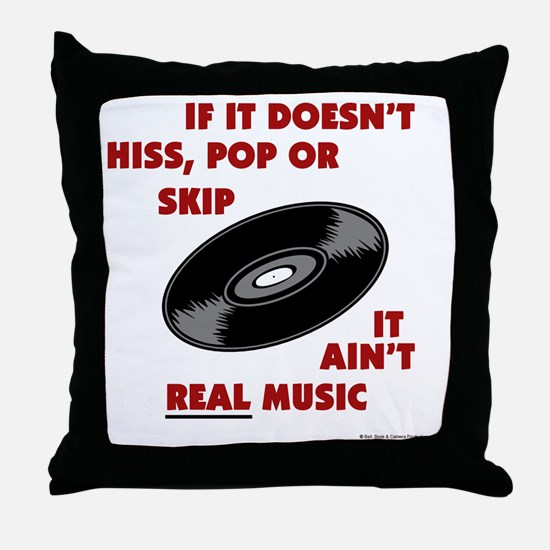 real_music Throw Pillow