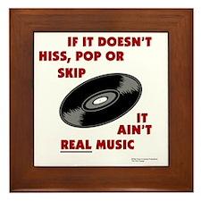 real_music Framed Tile