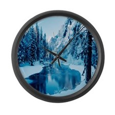 blanket17 Large Wall Clock