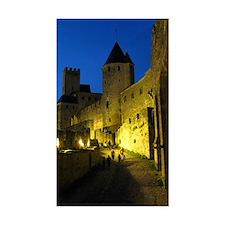 postcard carcassonne Evening Decal