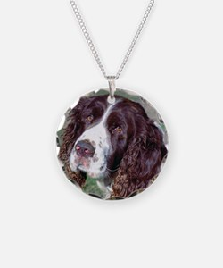 (12p) Spaniel Necklace
